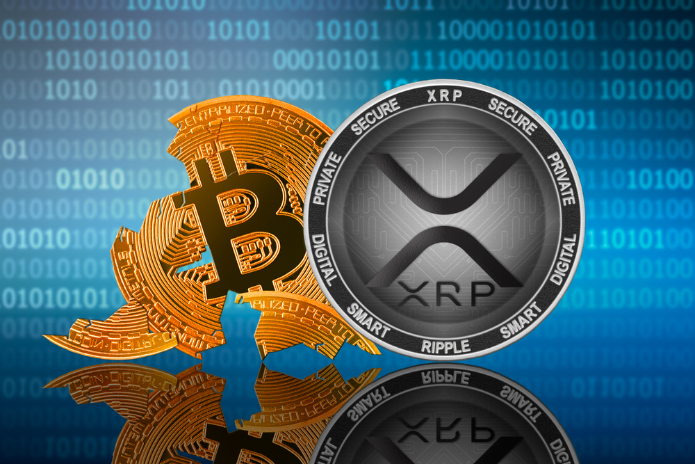 Ripple's XRP Leads Intraday Gains, Beats Bitcoin