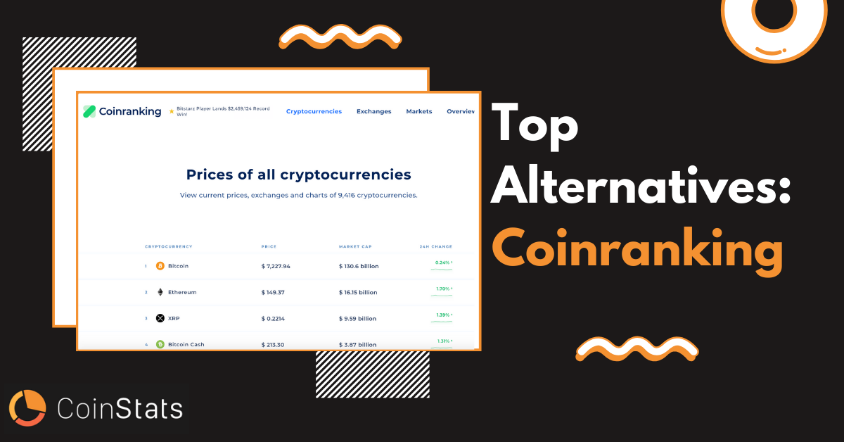 Top 6 Alternatives to Coinranking