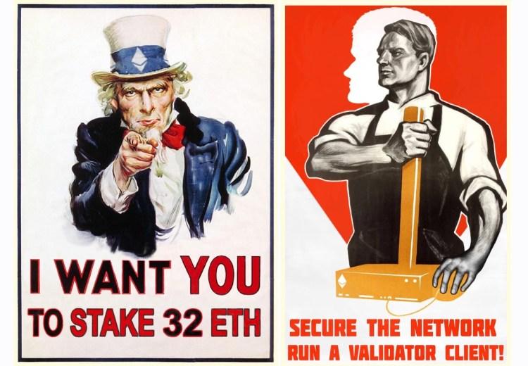 Ethereum staking promotion