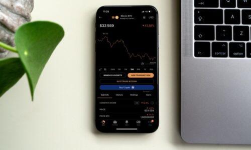 Bitcoin price falling coinstats photo