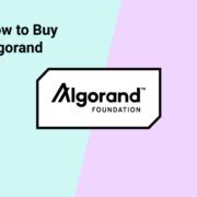 how to buy algorand